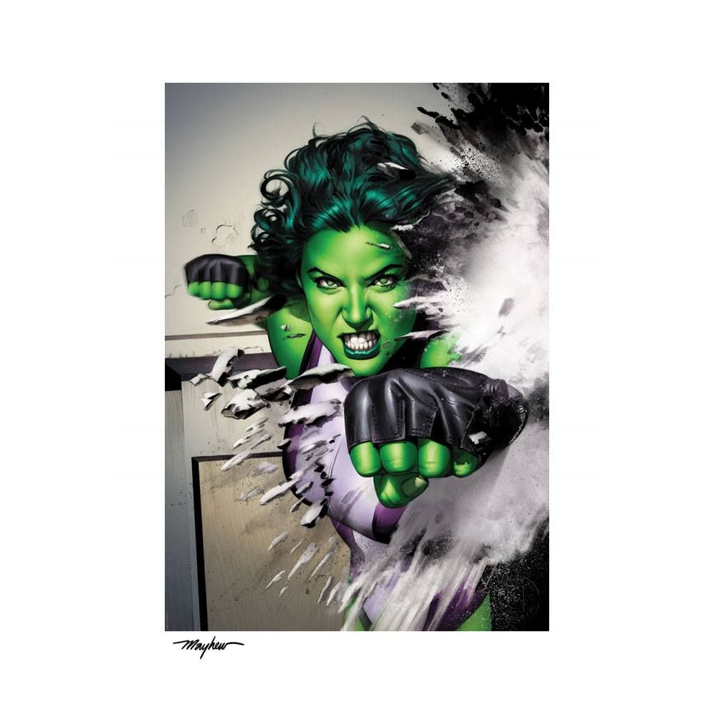Marvel Art Print She-Hulk 46 x 61 cm - unframed Sideshow Collectibles