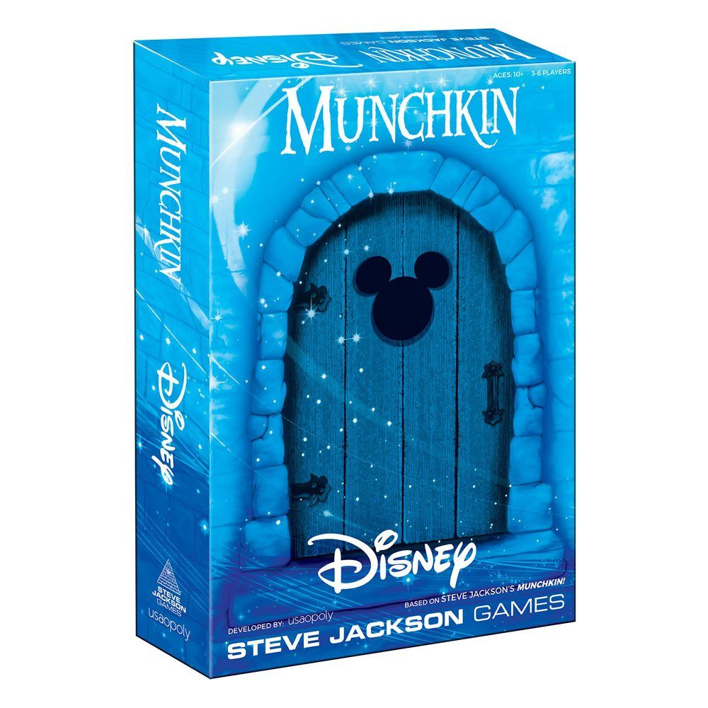 Munchkin Card Game Disney Anglická Verze USAopoly