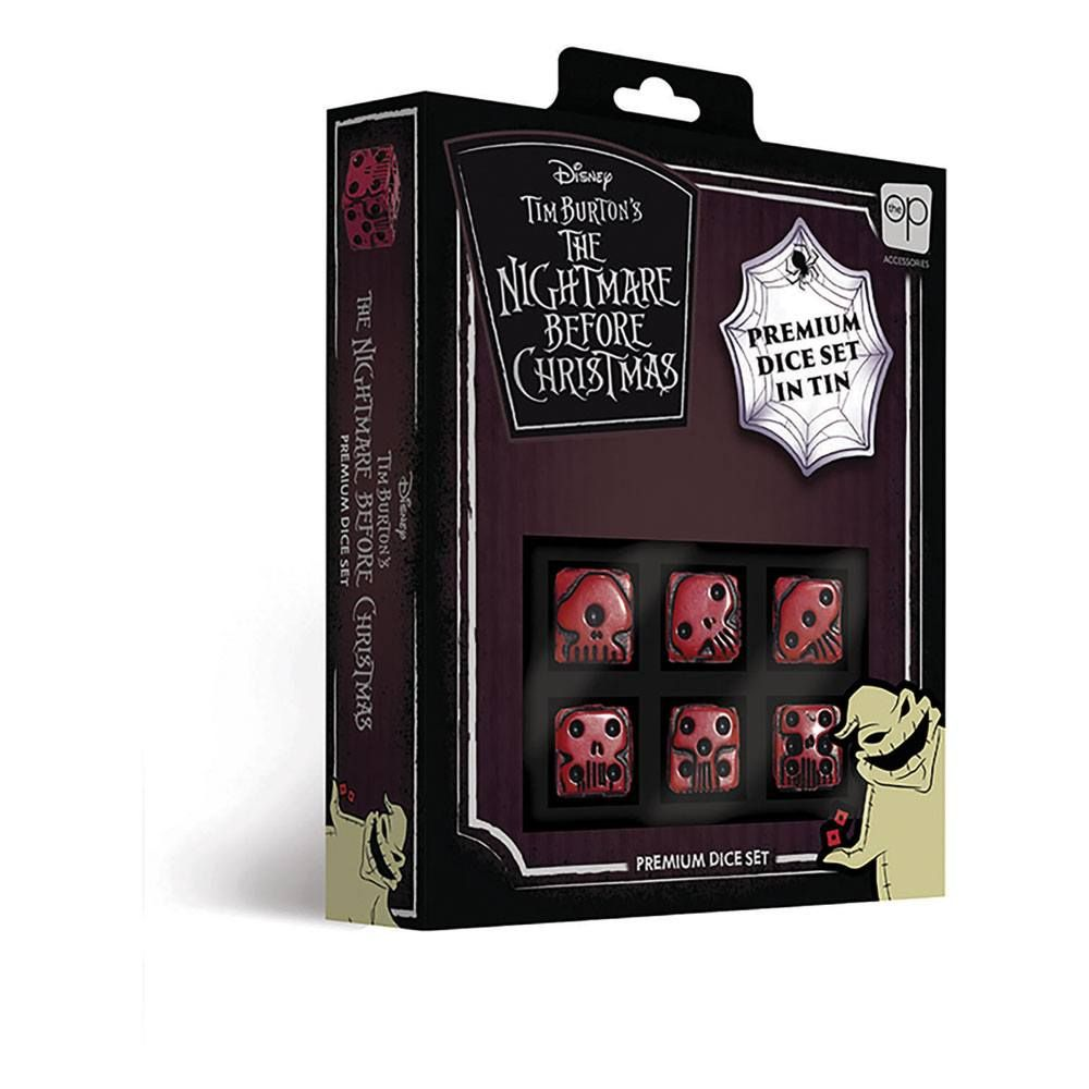Nightmare before Christmas Premium Dice Set 6D6 (6) USAopoly