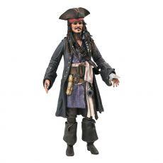 Pirates of the Caribbean Deluxe Akční Figure Jack Sparrow 18 cm