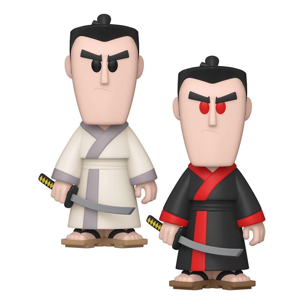 Samurai Jack vinylová SODA Figures Samurai Jack 11 cm Sada (6) Funko