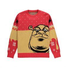 Shrek Knitted Christmas Mikina Ogre Velikost M