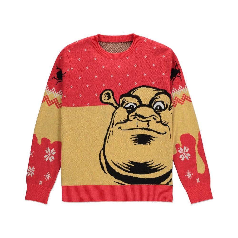 Shrek Knitted Christmas Mikina Ogre Velikost M Difuzed