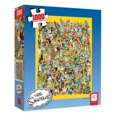Simpsonovi Jigsaw Puzzle Cast of Thousands (1000 pieces)
