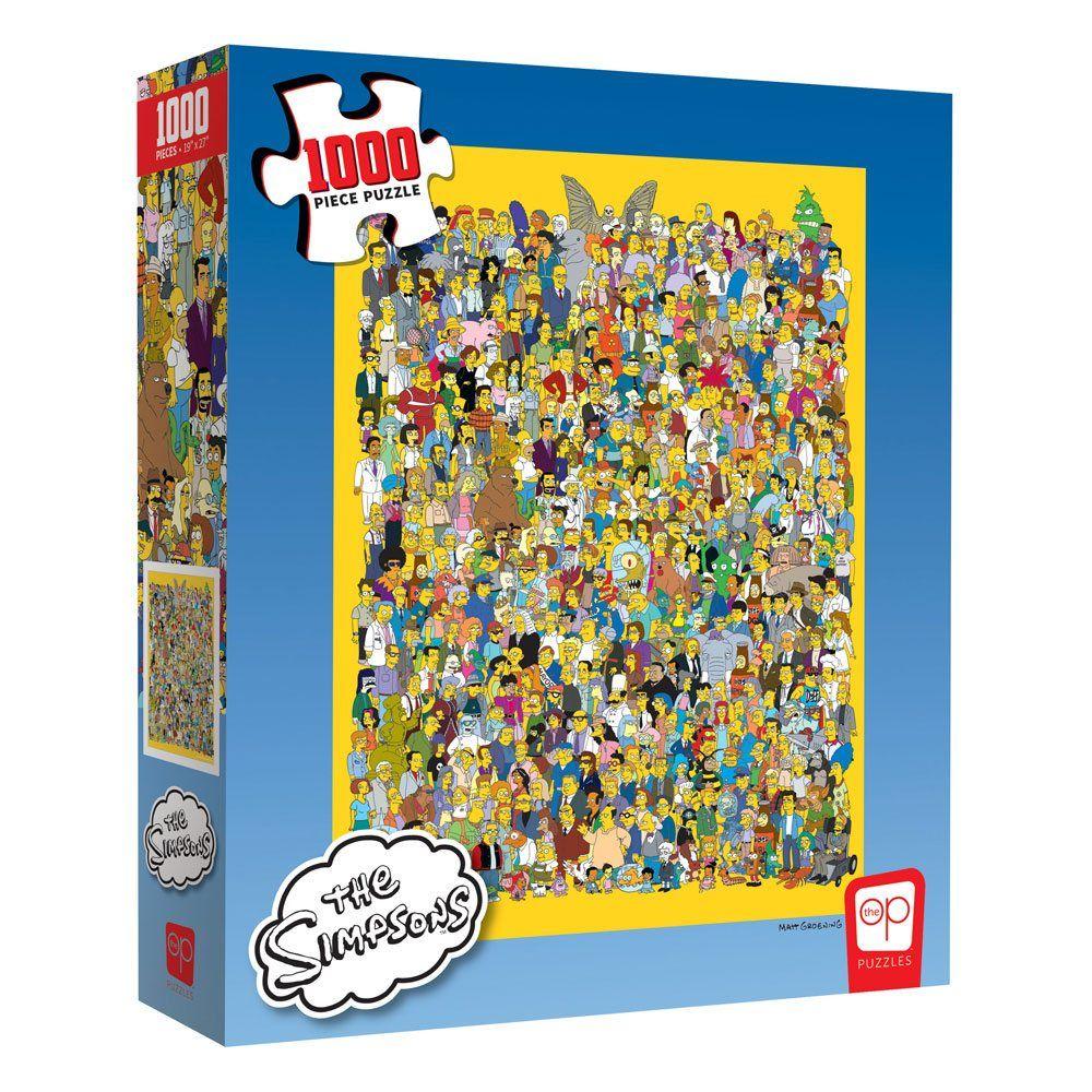 Simpsonovi Jigsaw Puzzle Cast of Thousands (1000 pieces) USAopoly