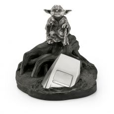 Star Wars Episode V Pewter Collectible Soška Yoda Limited Edition 14 cm
