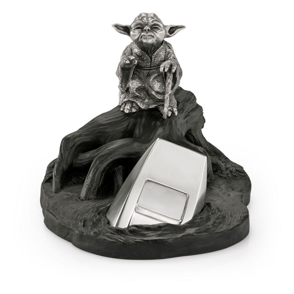 Star Wars Episode V Pewter Collectible Soška Yoda Limited Edition 14 cm Royal Selangor