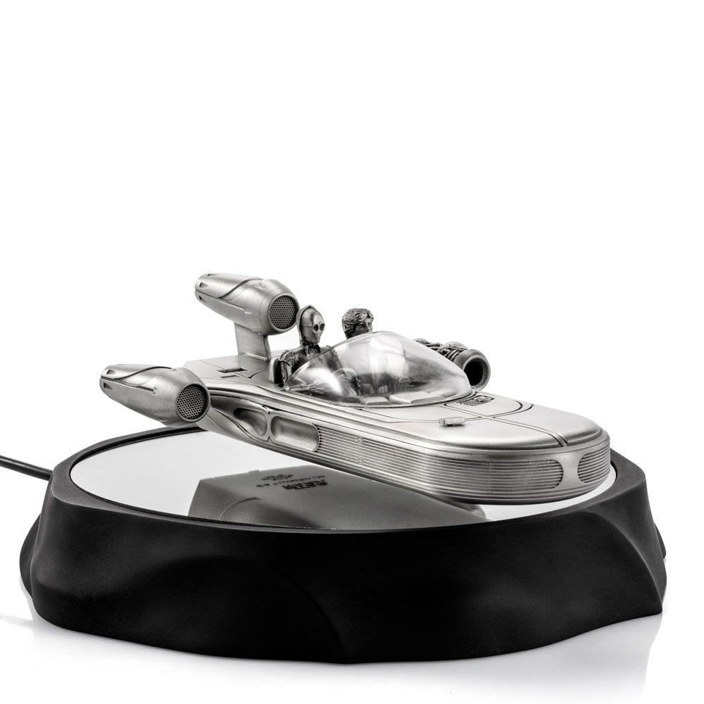 Star Wars Pewter Collectible Floating Model Landspeeder 19 cm Royal Selangor