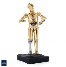 Star Wars Pewter Collectible Soška C-3PO Limited Edition 23 cm