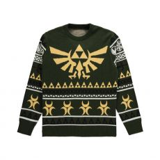 The Legend of Zelda Knitted Christmas Mikina Triforce Velikost S