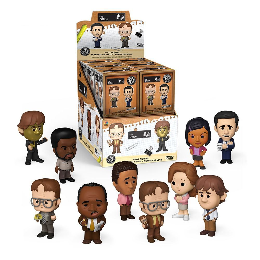 The Office US Mystery Minis vinylová Mini Figures 6 cm Display (12) Funko