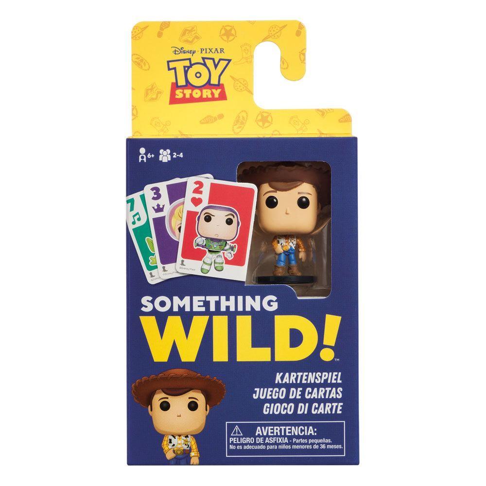 Toy Story Card Game Something Wild! Case (4) DE/ES/IT Verze Funko