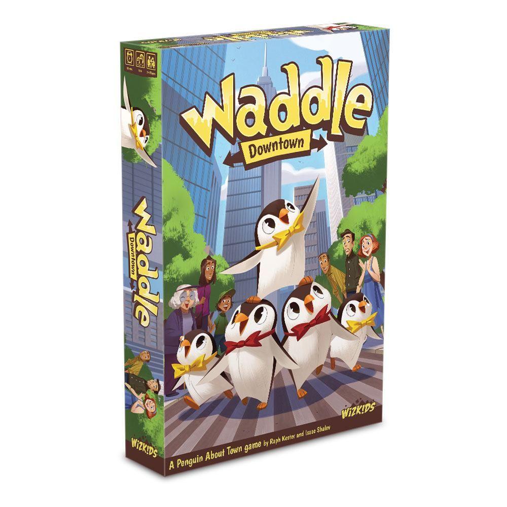 Waddle Board Game Anglická Verze Wizkids