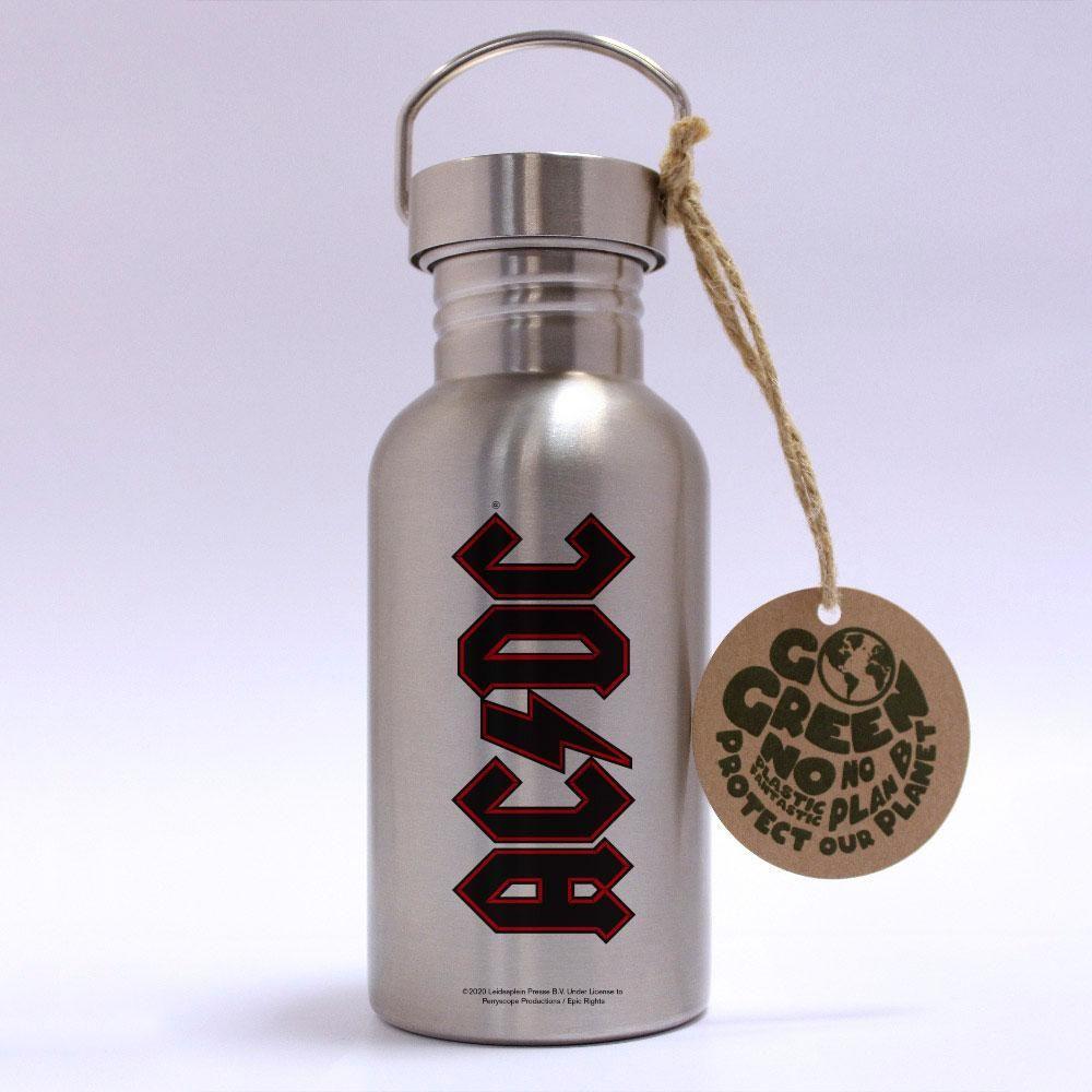 AC/DC Stainless Steel Water Bottle Logo GB eye