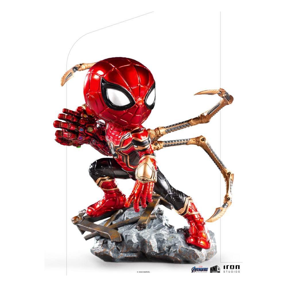 Avengers Endgame Mini Co. PVC Figure Iron Spider 14 cm Iron Studios
