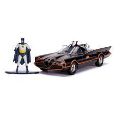 Batman Classic TV Series Kov. Model 1/32 1966 Classic Batmobile with Figure