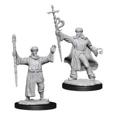 D&D Nolzur's Marvelous Miniatures Unpainted Miniatures Human Wizard Male Case (6)
