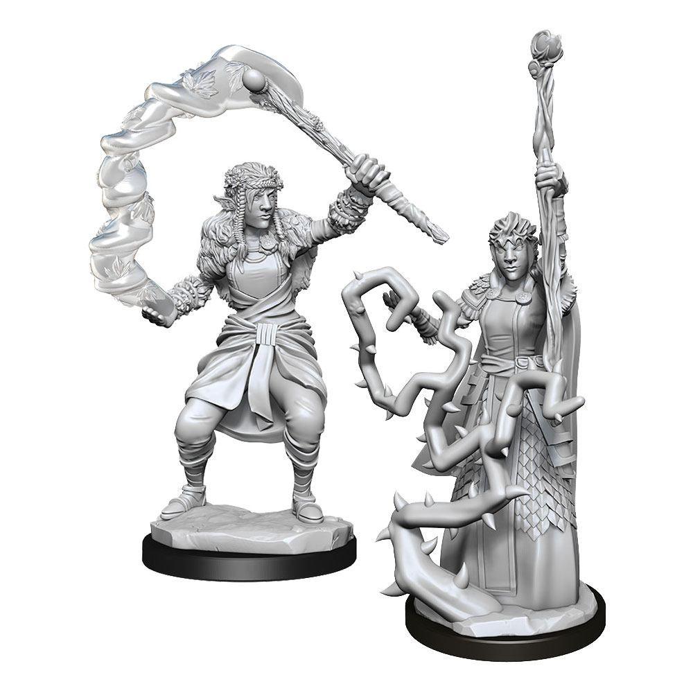 D&D Nolzur's Marvelous Miniatures Unpainted Miniatures Firbolg Druid Female Case (6) Wizkids