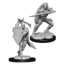 D&D Nolzur's Marvelous Miniatures Unpainted Miniatures Warforged Fighter Male Case (6)