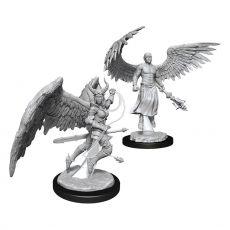 D&D Nolzur's Marvelous Miniatures Unpainted Miniatures Deva & Erinyes Case (6)