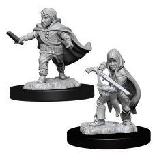 D&D Nolzur's Marvelous Miniatures Unpainted Miniatures Halfling Rogue Male Case (6)