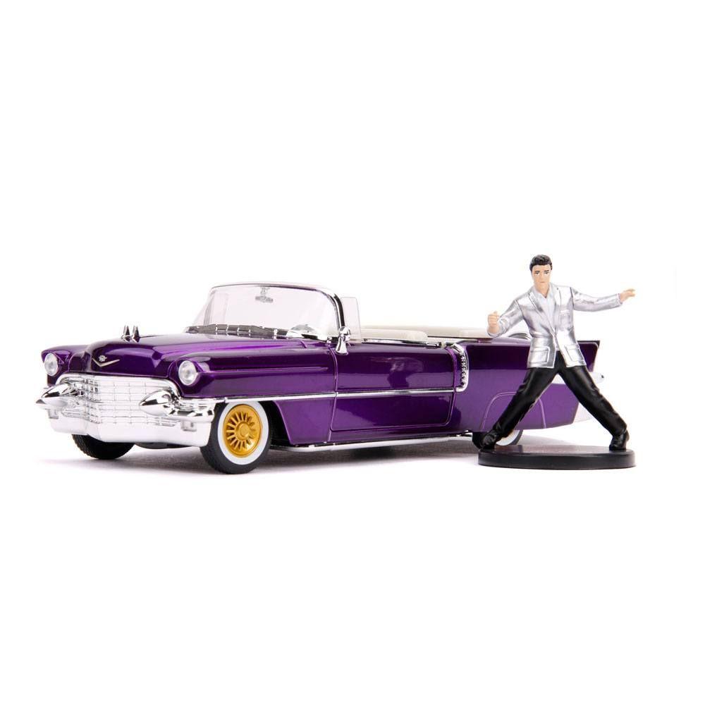 Elvis Presley Hollywood Rides Kov. Model 1/24 1956 Cadillac Eldorado with Figure Jada Toys