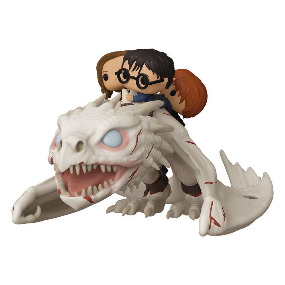 Harry Potter POP! Rides vinylová Figure Dragon w/Harry, Ron, & Hermione 15 cm Funko