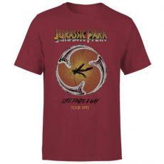 Jurassic Park Tričko Life Finds A Way Tour  Velikost M