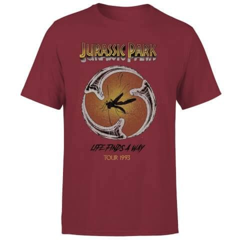 Jurassic Park Tričko Life Finds A Way Tour Velikost S PCM