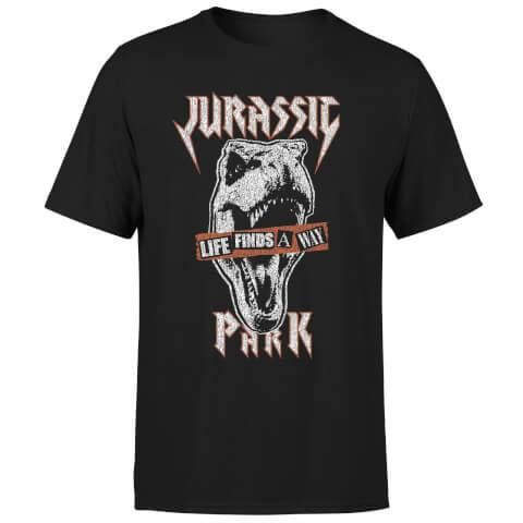 Jurassic Park Tričko Rex Punk Velikost L PCM