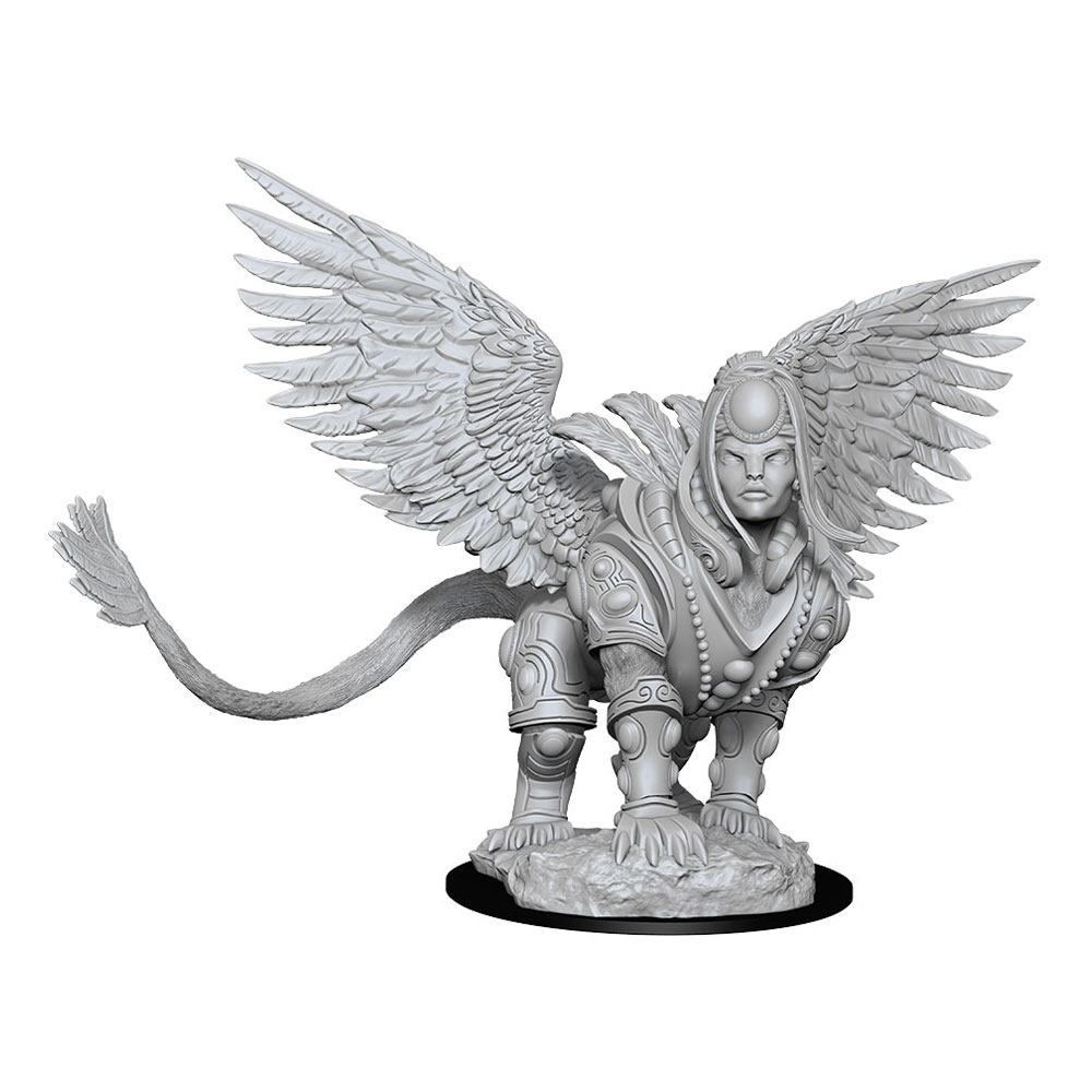 Magic The Gathering Deep Cuts Unpainted Miniature Isperia, Law Incarnate (Sphinx) Wizkids