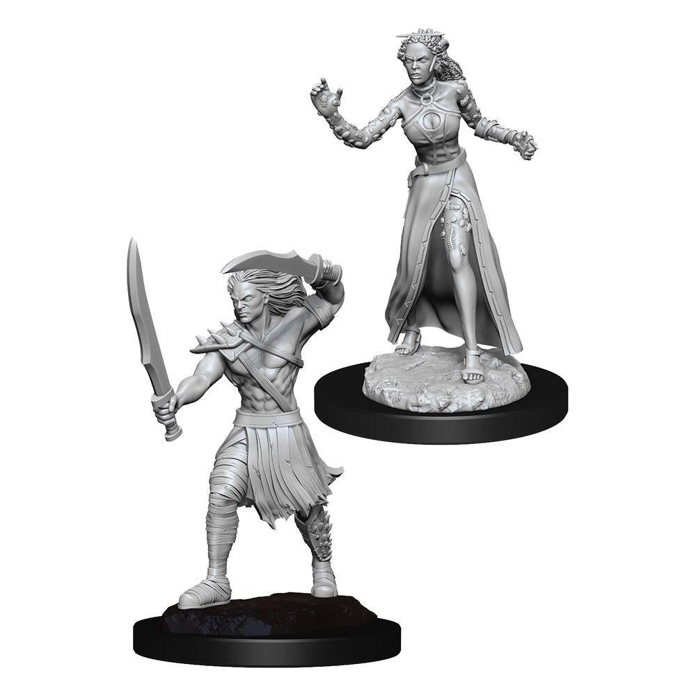 Magic the Gathering Deep Cuts Unpainted Miniatures Vampire Lacerator & Vampire Hexmage Case (6) Wizkids