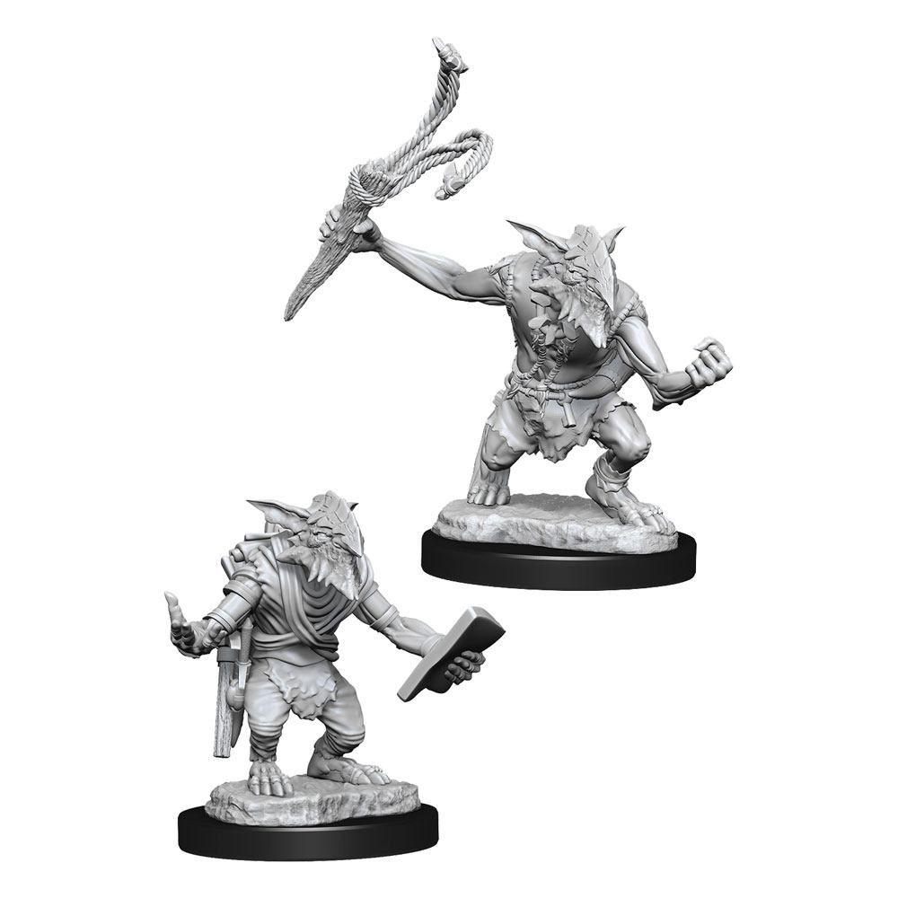 Magic the Gathering Deep Cuts Unpainted Miniatures Goblin Guide & Goblin Bushwhacker Case (6) Wizkids