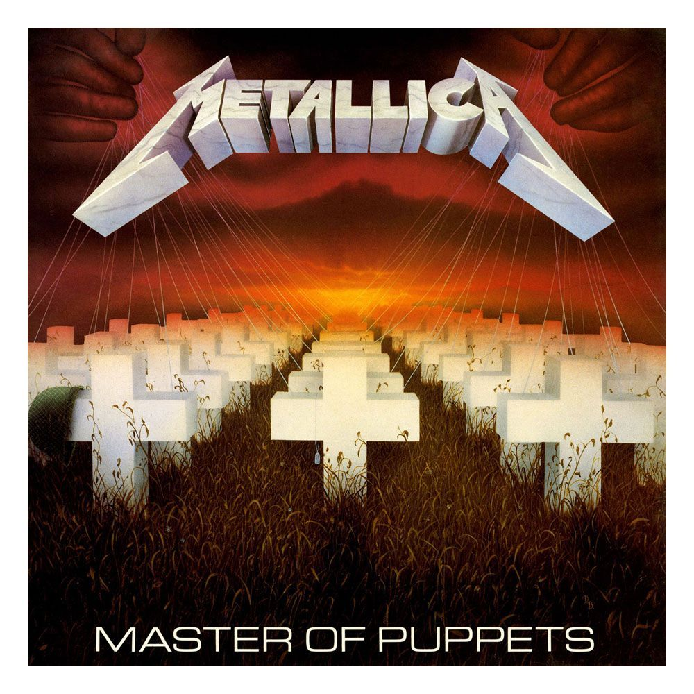 Metallica Rock Saws Jigsaw Puzzle Master Of Puppets (1000 pieces) PHD Merchandise