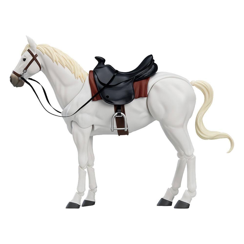 Original Character Figma Akční Figure Horse ver. 2 (White) 19 cm Max Factory
