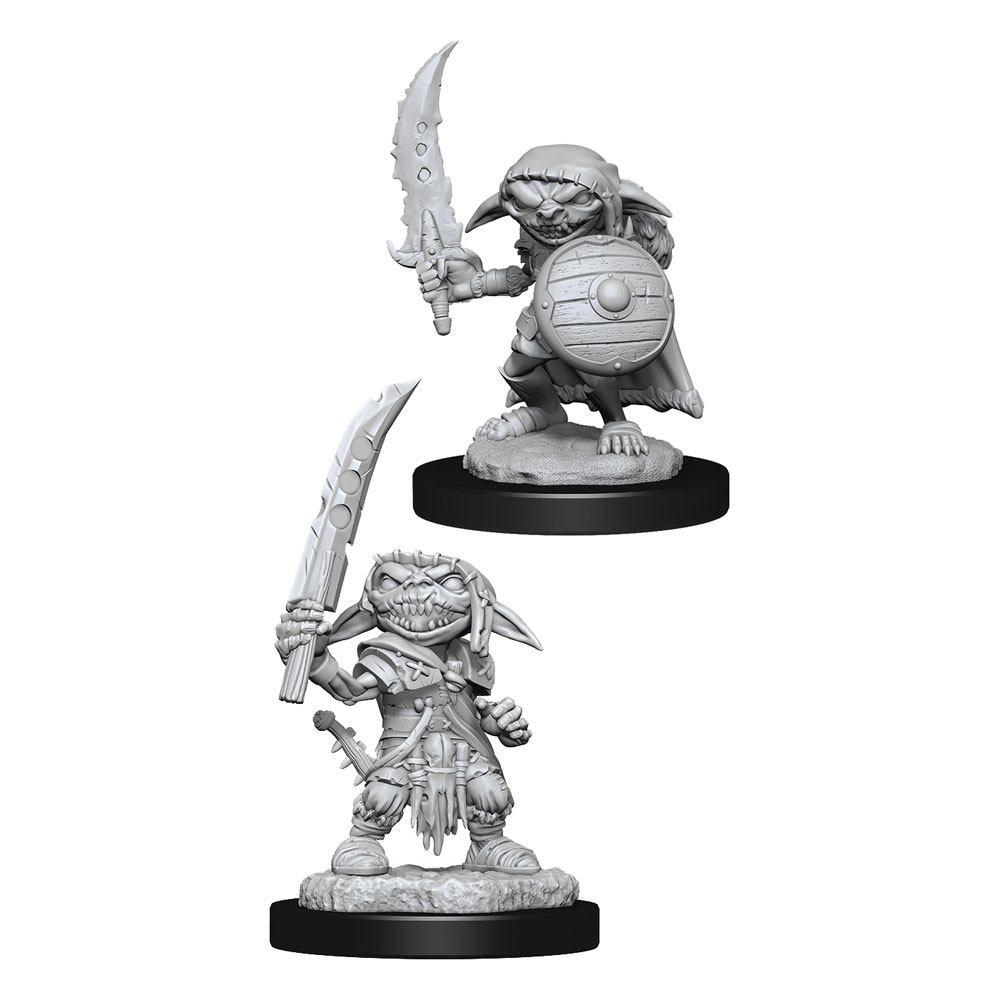 Pathfinder Battles Deep Cuts Unpainted Miniatures Goblin Fighter Male Case (6) Wizkids