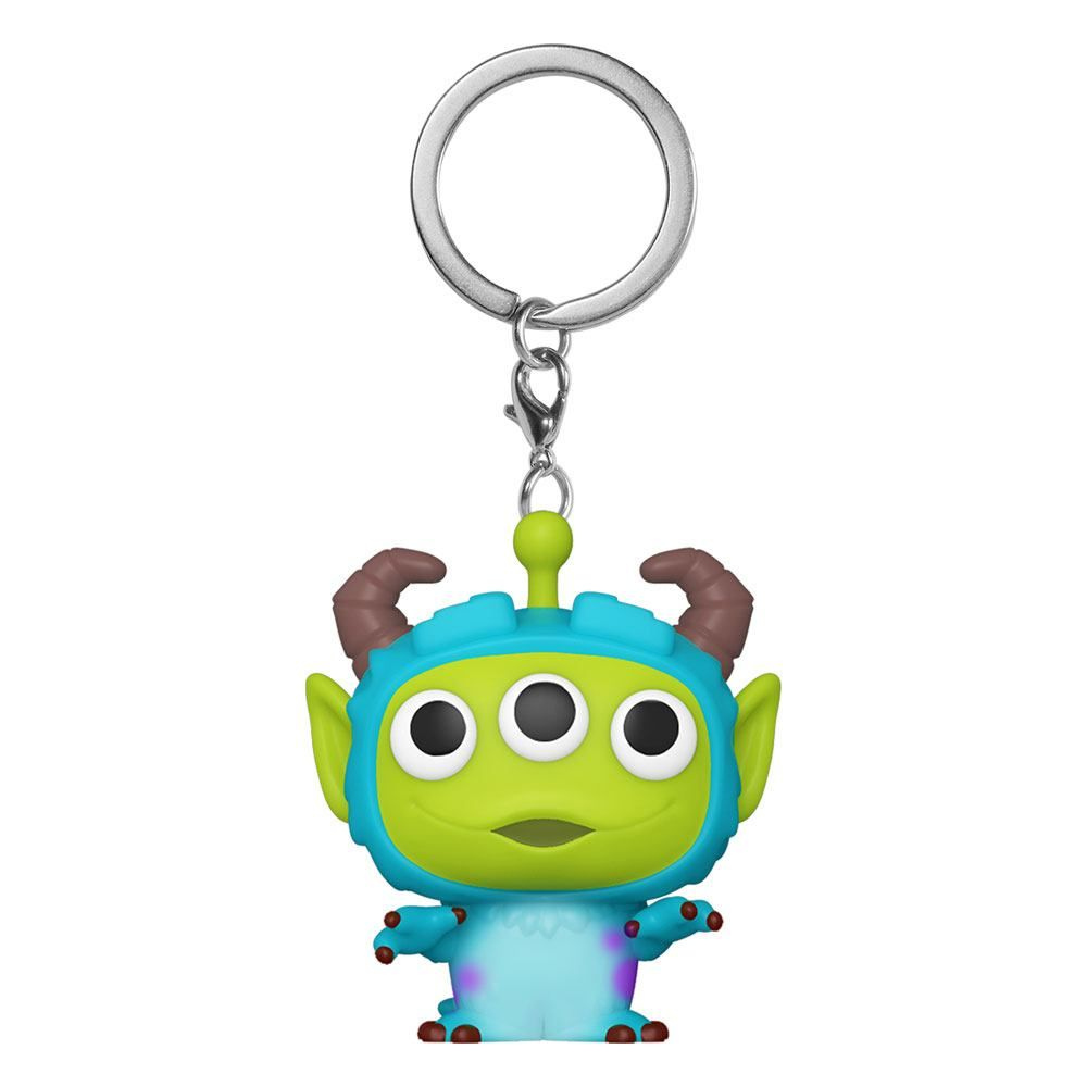 Pixar Pocket POP! vinylová Přívěsky na klíče 4 cm Alien as Sully Display (12) Funko
