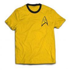 Star Trek Ringer Tričko Command Uniform  Velikost S