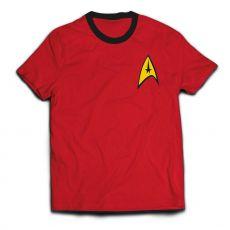 Star Trek Ringer Tričko Engineer Uniform  Velikost S