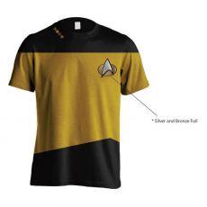 Star Trek Tričko Uniform Yellow Velikost S