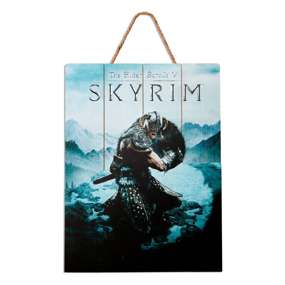The Elder Scrolls V: Skyrim WoodArts 3D Wooden Nástěnná Art Aereal Attack 30 x 40 cm Doctor Collector