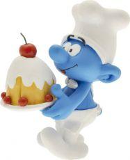 The Smurfs Collector Kolekce Soška Baker Smurf 15 cm