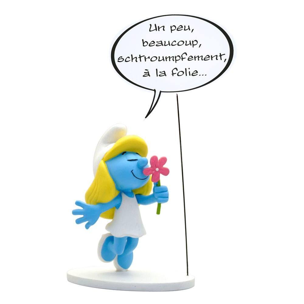 The Smurfs Collectoys Comics Speech Soška Grouchy Smurf 22 cm Francouzská Verze Plastoy