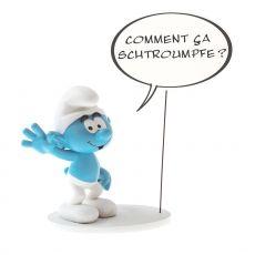The Smurfs Collectoys Comics Speech Soška Smurf 22 cm Francouzská Verze