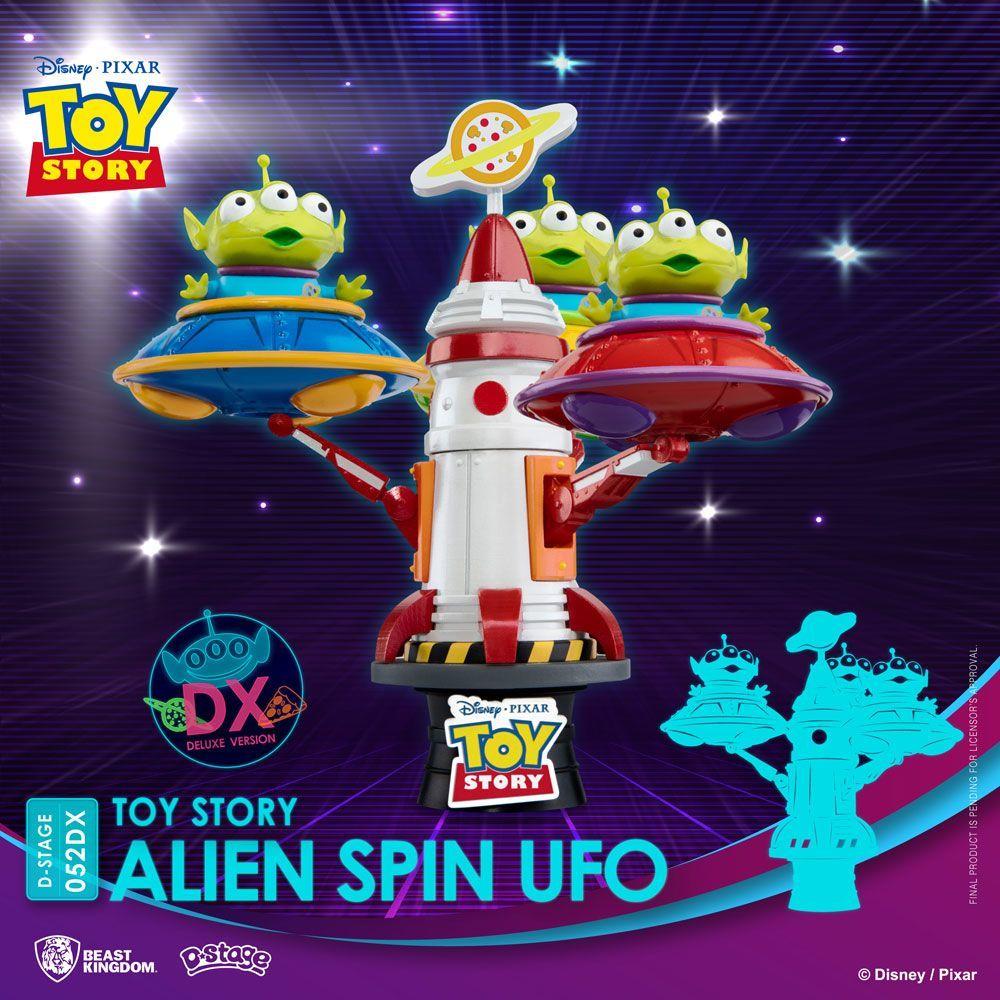 Toy Story D-Stage PVC Diorama Alien Spin Ufo 16 cm Beast Kingdom Toys