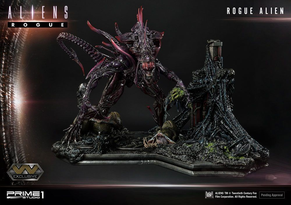 Aliens Premium Masterline Series Sochy Rogue Alien & Rogue Alien Exclusive 66 cm Sada (3) Prime 1 Studio