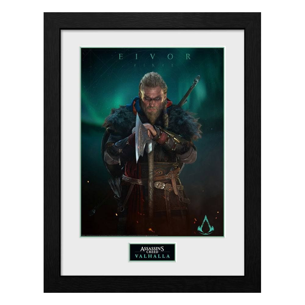 Assassins Creed Valhalla Collector Print Zarámovaný Plakát Eivor GB eye