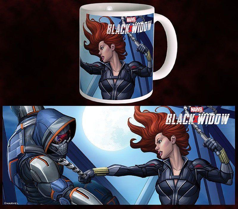 Black Widow Movie Hrnek BW vs TM Semic