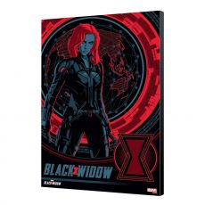 Black Widow Movie Wooden Nástěnná Art BW Blackops 34 x 50 cm