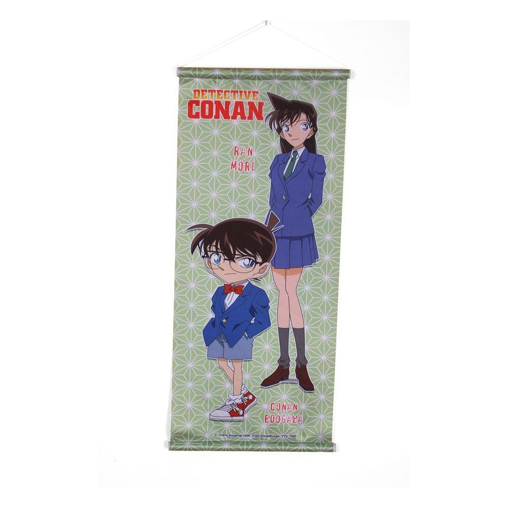 Case Closed Plátno Conan & Ran 28 x 68 cm Sakami Merchandise
